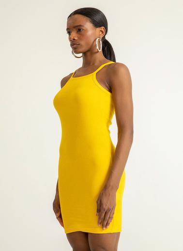 Foremia Elbise Sarı